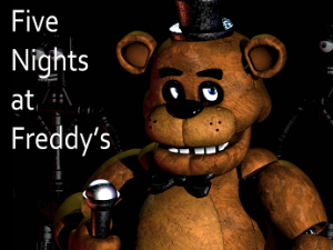 Five Nights at Freddy's 3 - terrified scream with horror super game